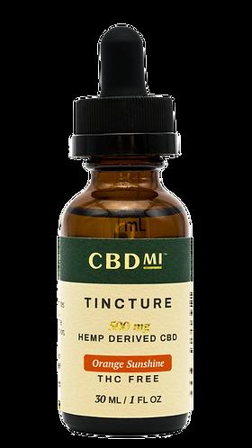 CBDMI Isolate Tincture | Orange Sunshine