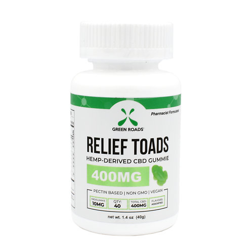 Green Roads Relief Toads