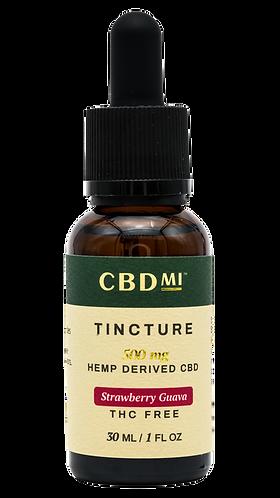 CBDMI Isolate Tincture | Strawberry Guava