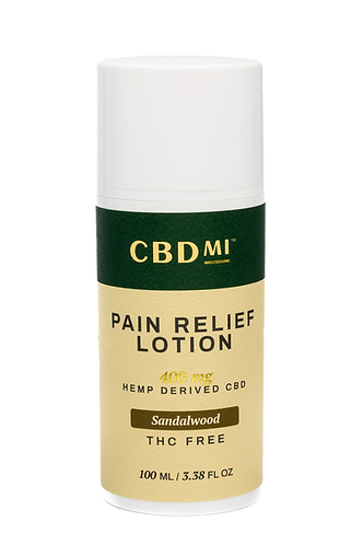 CBDMI Lotion | Sandalwood