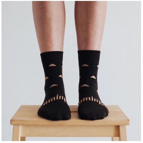 Erryl - Merino Wool Crew Socks - Womens.
