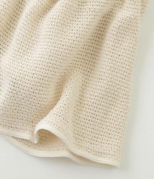 FOG Linen Baby Blanket.
