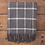 Thumbnail: Cashmere/Lambswool Charcoal Check Throw