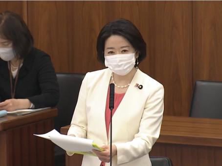 3月22日参議院厚生労働委員会にて質問