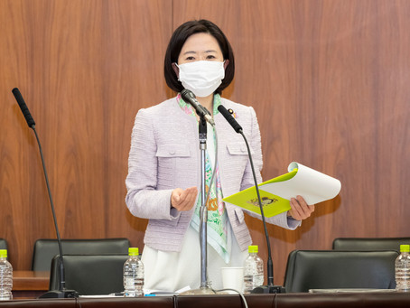 4月22日参議院厚生労働委員会にて質問