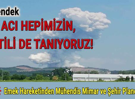 BU ACI HEPİMİZİN, KATİLİ DE TANIYORUZ!