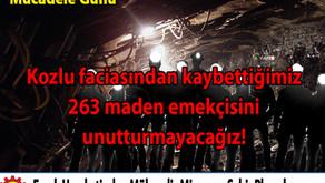 3 Mart İş Cinayetlerine Karşı Mücadele Günü