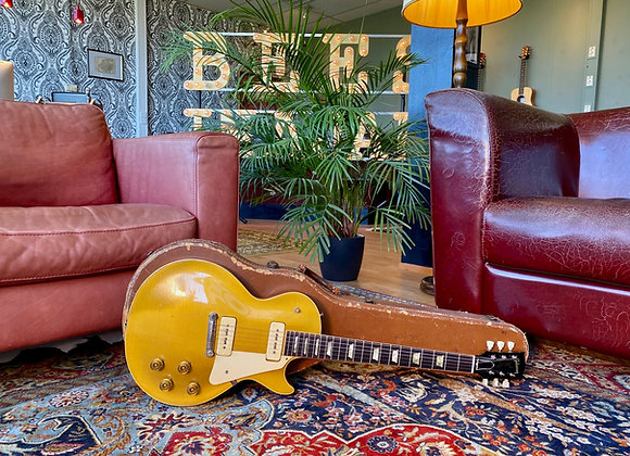 SOLD! - 1953 Gibson Les Paul Standard Goldtop Wrap around