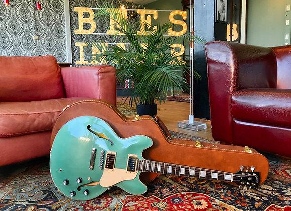 SOLD! - 2018 Gibson Memphis ES-335 Big Block Retro Ltd. Ed.  Emerald Green Metal