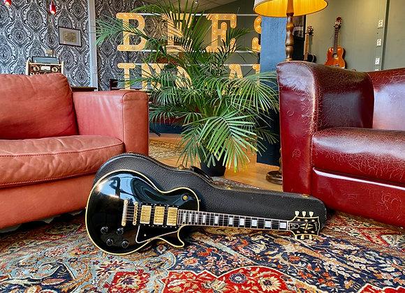 SOLD! - 1957 Gibson Les Paul Custom Black Beauty 3-PAF's