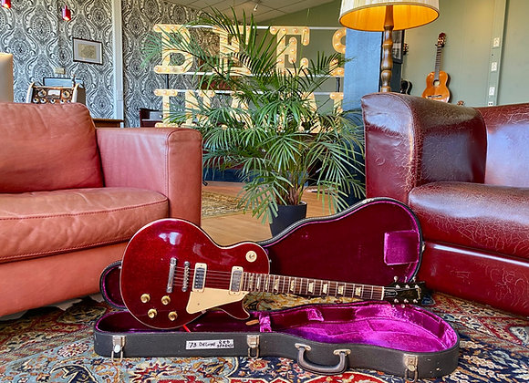 1973 Gibson Les Paul Deluxe Rocket Red Sparkle