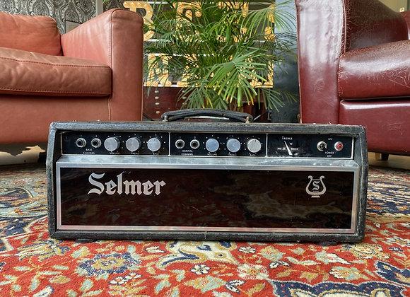 SOLD! - 1966 Selmer Treble N' Bass 50 MKIII Copperface Tube Amp Head