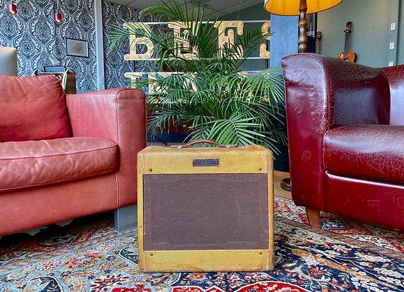 SOLD! - 1955 Fender 5D3 Tweed Deluxe Wide Panel