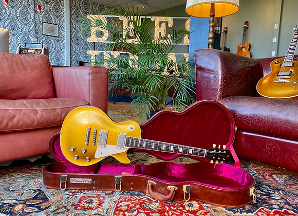 SOLD! - 2021 - Aged Panucci '57 Les Paul Inspired Series 3.6KGs All Gold