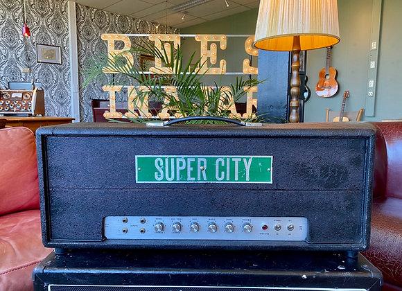 1970's Super City DEA200 50W/100W - Marshall 1959 Super Lead plexi style head