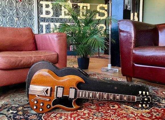 SOLD! - 1963 Gibson Les Paul SG Standard w/ sideways Vibrola