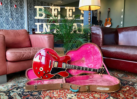 SOLD! - 1960 first year Cherry Gibson ES-345TD Stoptail Stereo Varitone