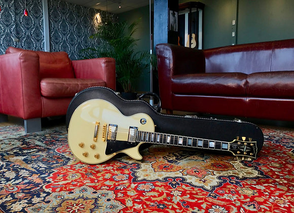 SOLD! - 1989 Gibson Les Paul Custom Alpine White