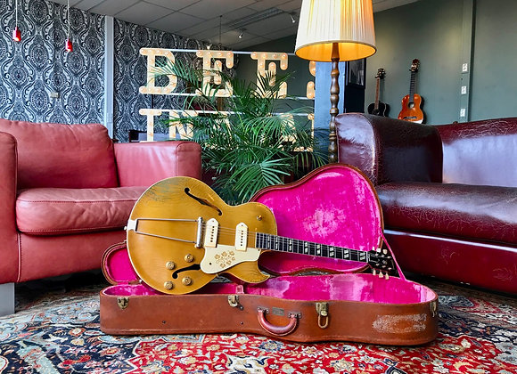 SOLD! - 1953 Gibson ES-295 All Gold