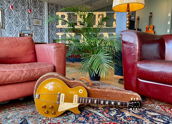 SOLD! - 1953 Gibson Les Paul Goldtop w/ factory stinger!!!