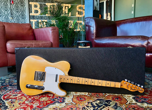SOLD! 1971 Fender Telecaster Blonde with a Smugglers Route
