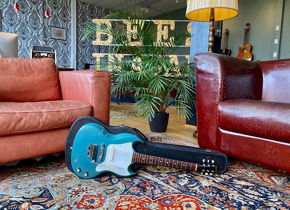 "SOLD! - 1966 Gibson Melody Maker SG Pelham Blue ""All Pelham"" Short Scale"