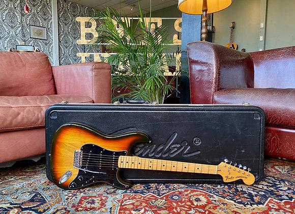 SOLD! - 1979 Fender Stratocaster Sunburst w/ Tremolo