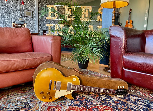 SOLD! - 1952-1957 Gibson Les Paul Goldtop Conversion