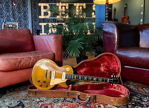 SOLD! - 1957 Gibson Les Paul Standard Goldtop P90