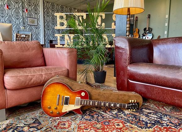 SOLD! - 1956-1959 Gibson Les Paul Standard Burst PAF conversion 3.8Kg