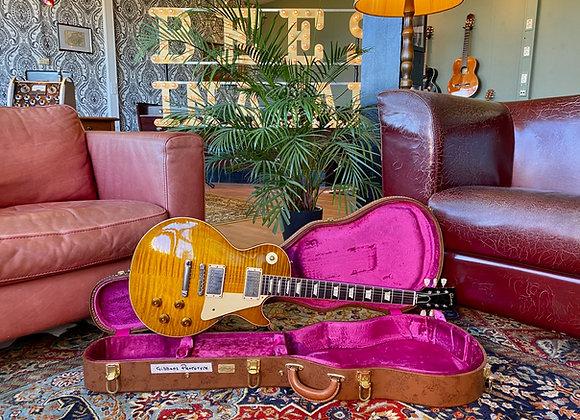 SOLD! - PROTOTYPE Gibson Les Paul 1959 True Historic Billy Gibbons AGED Lemon