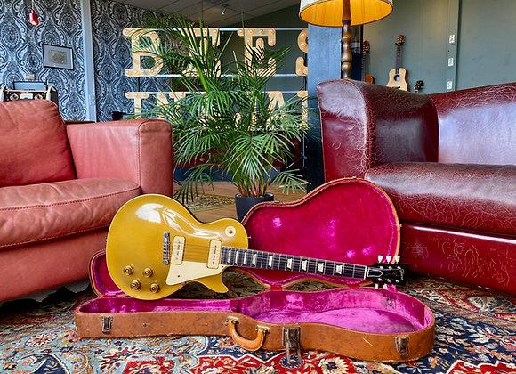 1954 Gibson Les Paul Standard All Gold Goldtop w/ original wraparound tailpiece