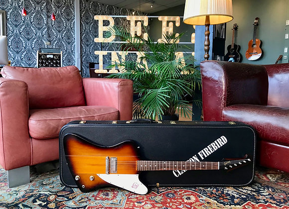 SOLD! - 2019 Gibson Custom Shop 1964 Firebird I Eric Clapton Signed