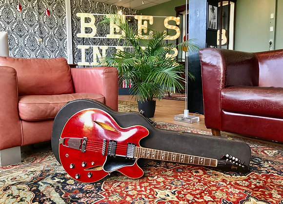 SOLD! - 1966 Gibson Trini Lopez Standard Cherry Red