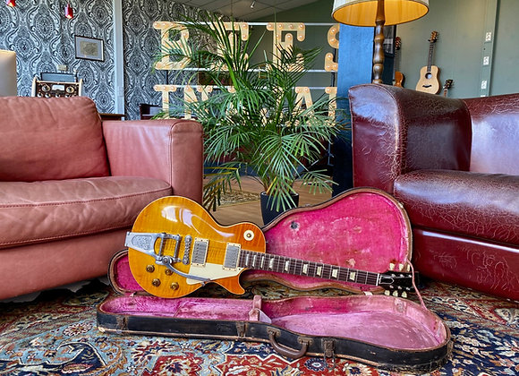 """SOLD! - """"Keef"""" - 1954-1959 Gibson Les Paul Standard Conversion w/ Bigsby"""