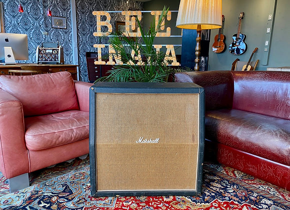 1969 Marshall 4x12 1960A Basketweave top cabinet w/ 4 x Celestion G12M Pre Rola
