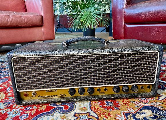 1963 Selmer Truvoice Bassmaster Fifty Croc Skin Treble 'N Bass 50