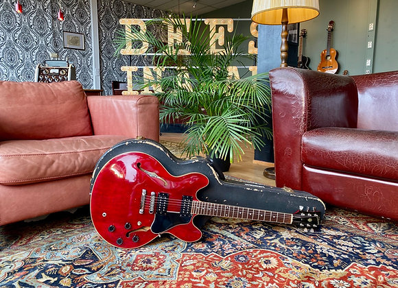 SOLD! - 1981 GIBSON ES-335 PRO Cherry Red w/ Dirty Fingers