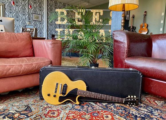 SOLD! - 1957 Gibson Les Paul Junior TV Yellow Single Cut