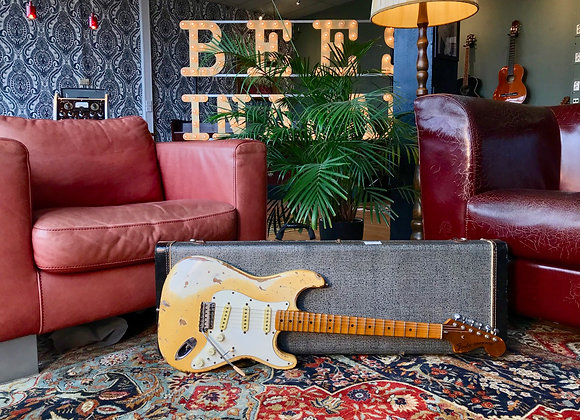 SOLD! - 1979 Fender Stratocaster Olympic White - Yngwie Malmsteen inspired