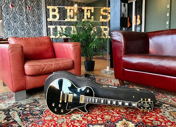 SOLD! - 1976 Gibson Les Paul Custom Black Beauty