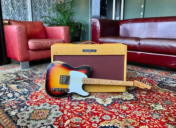 SOLD! - Tubeking built 2x12 '57 Fender Tweed Deluxe 5E3