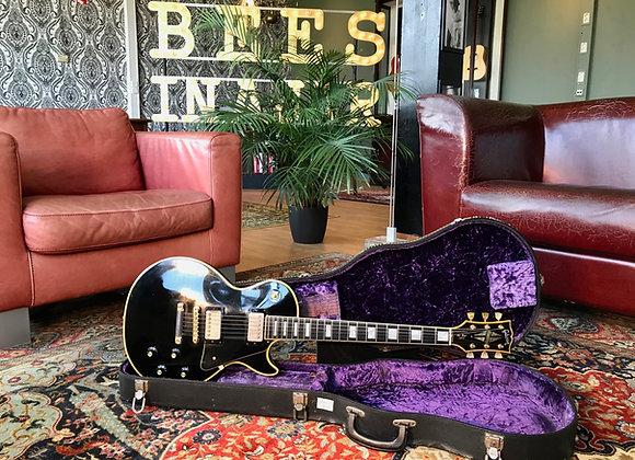 SOLD! - 1969-1970 Gibson Les Paul Custom Black Beauty
