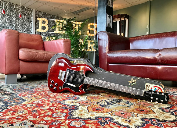 SOLD! - 1969 Gibson SG Special Cherry DC P90