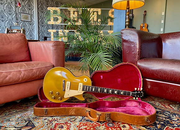 SOLD! - 1953 Gibson Les Paul Gold Top Wraparound Goldtop