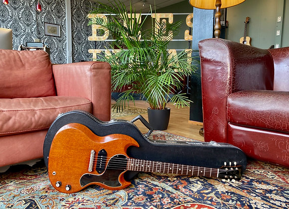 SOLD! - 1963 (Early) Gibson Les Paul Junior SG Cherry Red Small Guard P90