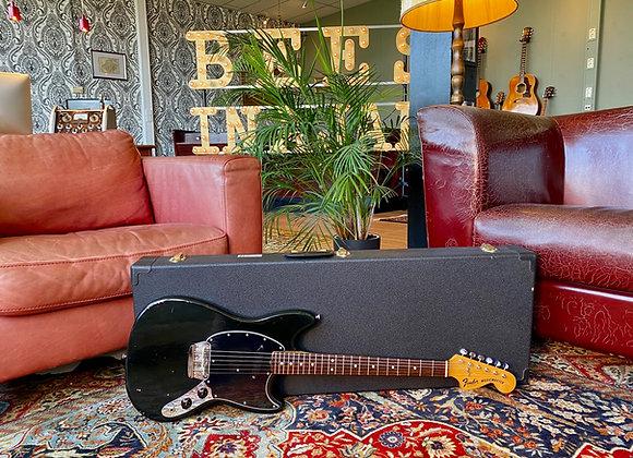 SOLD! - 1976 Fender Musicmaster Black