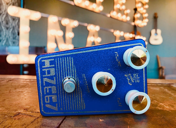 SOLD! - Isle of Tone Haze 67 mini FUZZ with 2 x matched 1950's OC81 Mullards