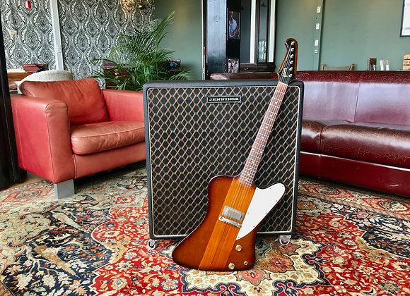 SOLD! - 1969 Jennings (Ex VOX) 4 x G12H Guitar Speaker Cabinet, Model D4