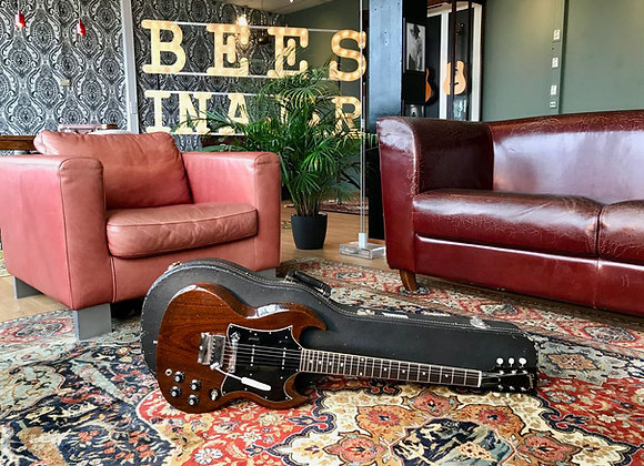 SOLD! - 1969 1970 Gibson SG Special Cherry DC P90